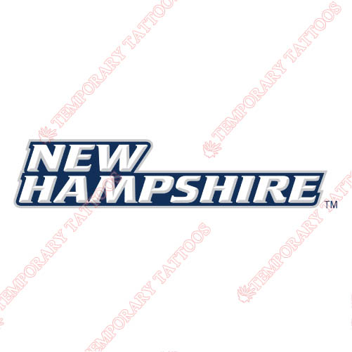 New Hampshire Wildcats Customize Temporary Tattoos Stickers NO.5411
